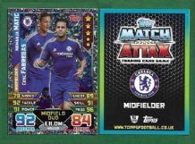 Chelsea Nemanja Matic Serbia & Cesc Fabregas Spain 444 Midfield Duo